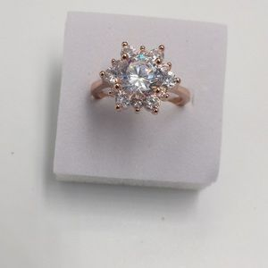 18K Gold filled 1.5 carat cubic Zirconia 12 Small
